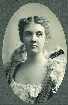 Julie in 1902. Courtesy of Peter Seymour.