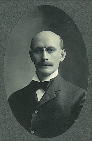 James in 1902. Courtesy of Peter Seymour.