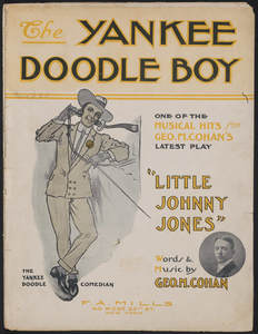 """The Yankee doodle boy"" sheet music, 1904. Museum of the City of New York."