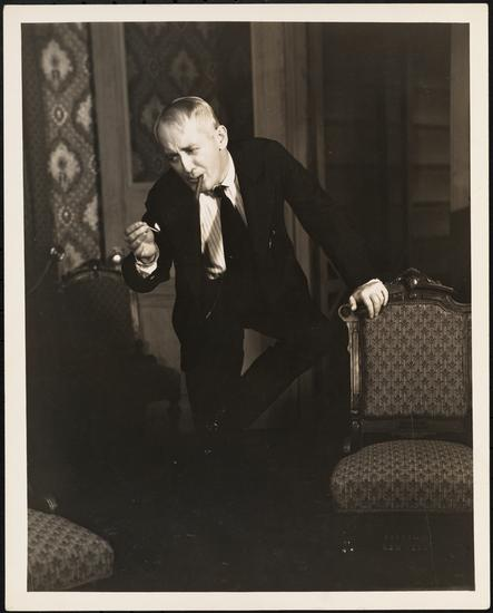 Vandamm. [George M. Cohan as Nat Miller in Ah, Wilderness!.] 1934. Museum of the City of New York.