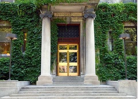Rockefeller Institute entrance
