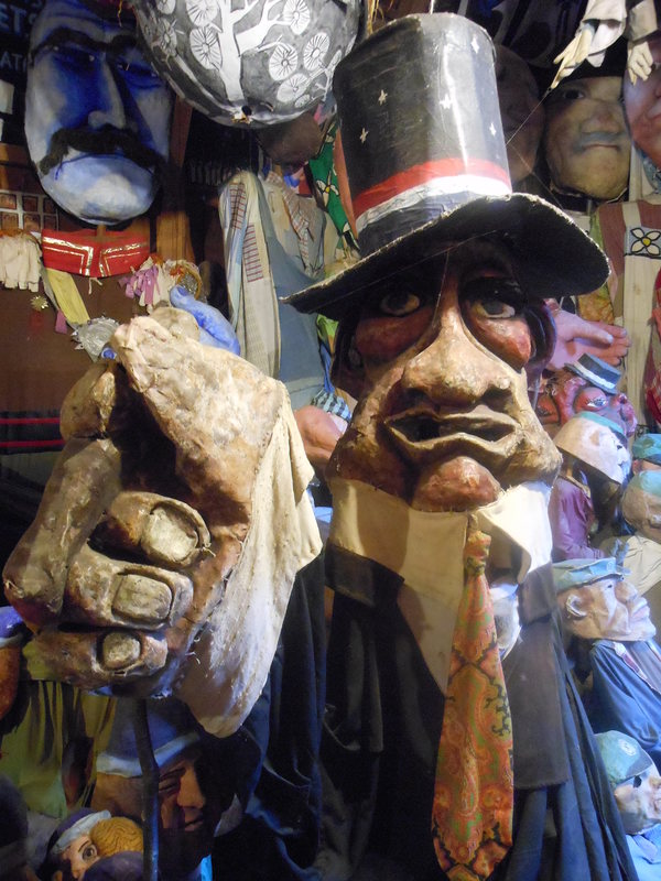 Uncle Fatso, Bread and Puppet Museum, Glover Vermont (Erik Wallenberg).