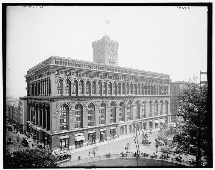 Produce Exchange. Photograph c. 1904. Library of Congress.