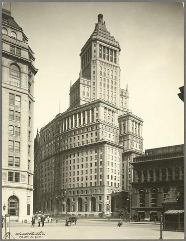 Standard Oil Building. Photograph c. 1928. New York Public Library.