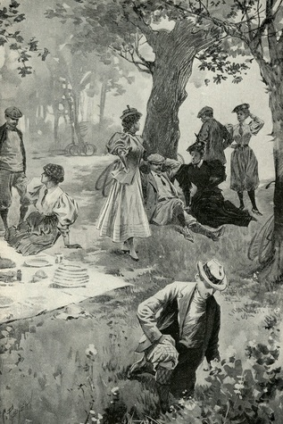 """""""A Bicycle Picnic Party."""" Munsey's Magazine, May 1896"""