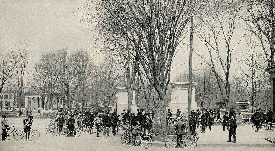A Sunday in Prospect Park, Brooklyn, 1896. Munsey's Magazine, May 1896