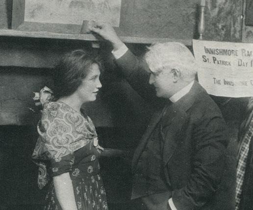 Eileen Huban and David Belasco