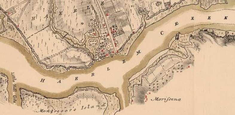 """Benjamin Franklin Stevens, """"Facsimile of the Unpublished British Headquarters Coloured Manuscript Map of New York and Environs 1782. Reproduced from the Original Drawing in the War Office London"""" (1782)."""