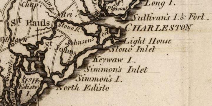 "Mathew Carey, ""State of South Carolina"" (1795)."