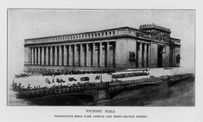 Victory Hall Association, 1920. Victory Hall: New York City's proposed war memorial and forum. New York, NY: Victory Hall Association
