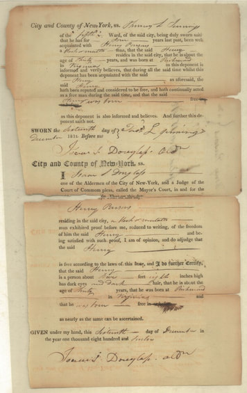 BV NYC Indentures, MS 2085 courtesy of the New-York Historical Society