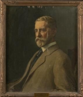Howard Russell Butler portrait of William Allen Butler, Jr., Princeton University Art Museum