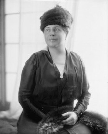 Lillian Wald was the founder and longtime director of the Henry Street Settlement and a leader in the movement for social reform in New York City. Courtesy of the Library of Congress.
