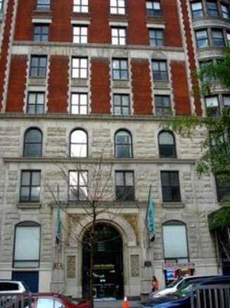 The Gerlach Hotel on 27th Street, now known as the Radio Wave Building. Courtesy of AtlasObscura