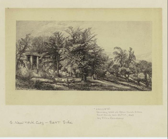 "Eliza Greatorex: ""Country seat of John Jacob Astor"""