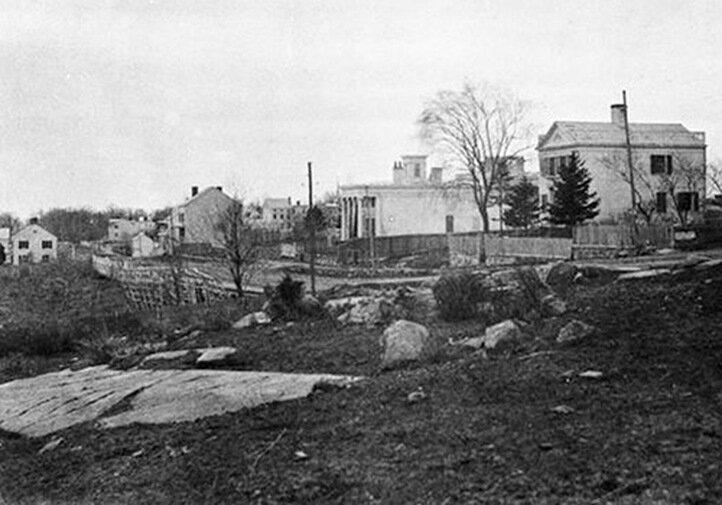 Manhattan, near today's 94th Street, 1853–1854. (photo: Victor Prevost)