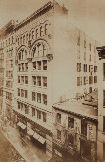 80 Wooster Street, 1898. Milstein Division of United States History, Local History and Genealogy. The New York Public Library, Astor, Lenox and Tilden Foundations.