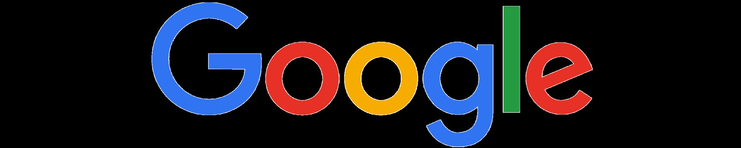 Google's full color logo