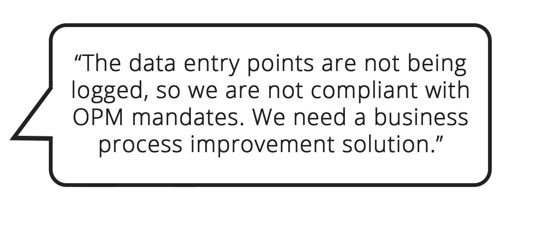 Business Process Improvement Quote