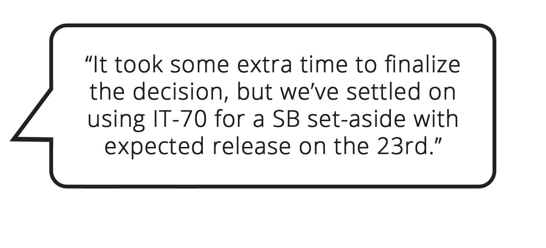 IT-70 Quote