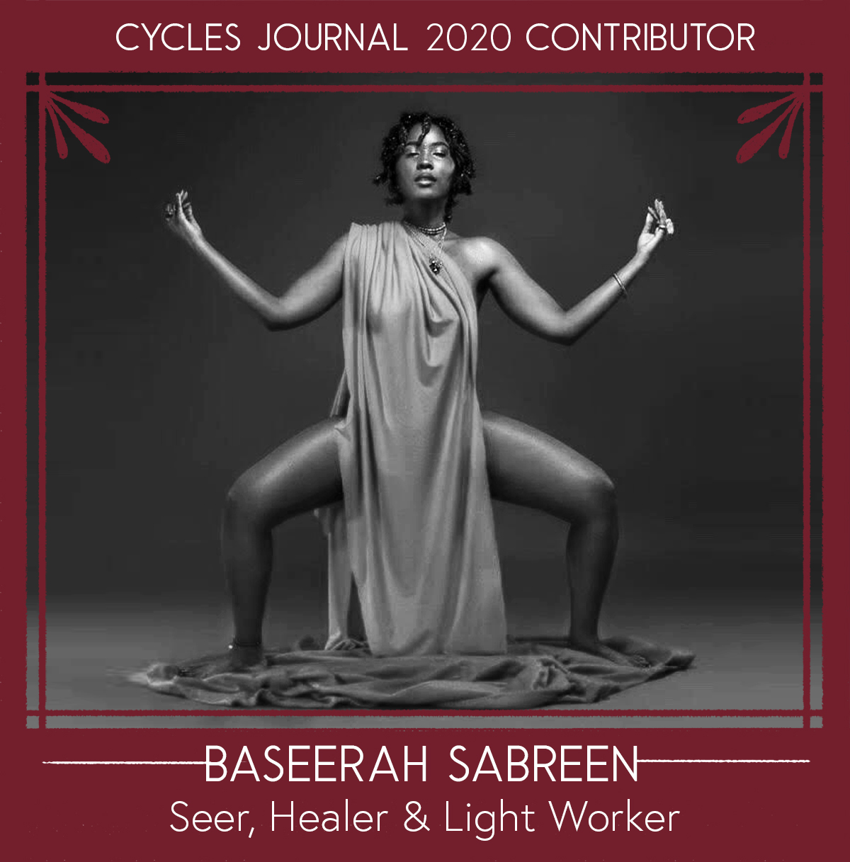 Baseerah Sabreen - Seer, Healer & Light WorkerBaseerah Sabreen is a Revolutionary Intuitive Seer, Conducting her Light Work in the Heart of Philadelphia, Walking in Spirit with Those who Seek to Introduce Alternative, Natural Healin' Methodologies into their Journey. Baseerah is the Manifesting Force Behind Light Beings Healin' Company, an Intuitively-Centric Spiritual Tools and Services Startup. LBHC was Created to Align the Mind, Body, and Spirit to its True Purpose Through Crystal Cleansing, Sound healing, Smudging, Chakra Readings, Using our Self-Published Taa Marbuta Chakra Deck, and Meditative Consultations. Through Vending Spirit Tools and Providing Intuitive Services at Local Healing and Metaphysical events, Baseerah has Created a One-of-a-Kind Pop-Up Alternative Healing Clinic, Which Serves a Variety of Philadelphia Communities. Along With Being an Alchemist, Seer, and Light Worker, Baseerah is an Ordained Spiritual Minister with her Bachelors degree in Metaphysics from the University of Sedona.Social: @lbhealincoWebsite: Lightbeingshealinco.comEmail: lbhealingcomp (@) gmail.com
