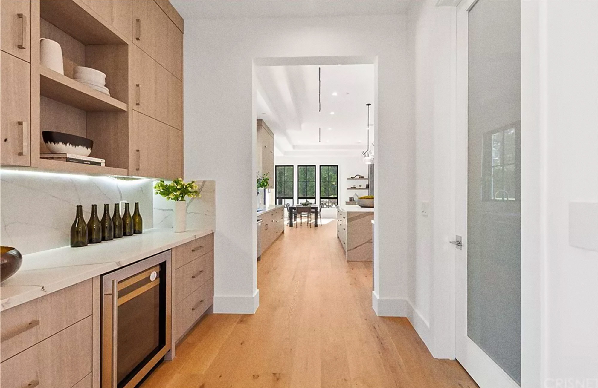 Home with Malaga Engineered Wood