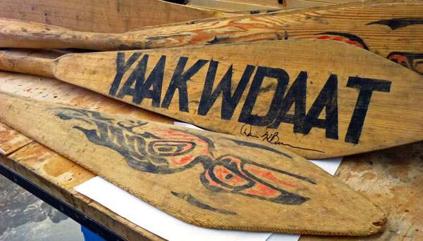KWAAN is COMMUNITY - A rising tide lifts all canoes. That is why the Kwaan invests, gifts, and advocates for our village and environment.