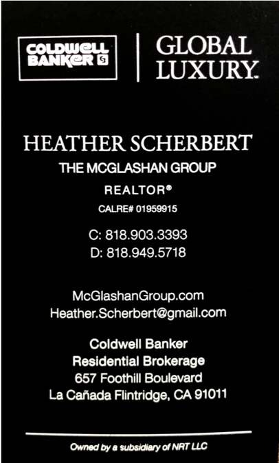 Heather Scherbert Real Estate