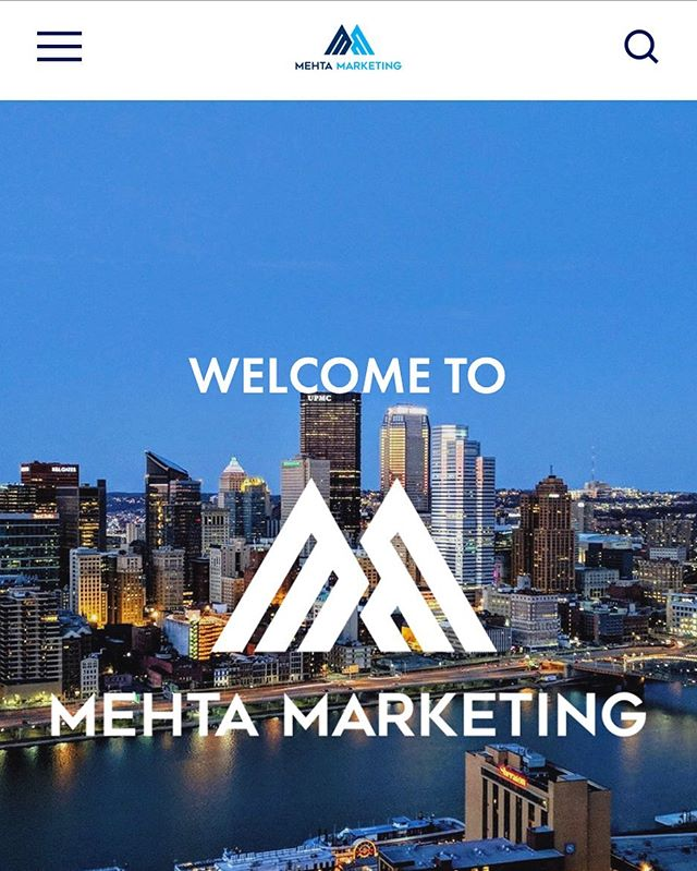It's here! Check out our new and improved website. 🤩www.mehtamarketinginc.com 💻