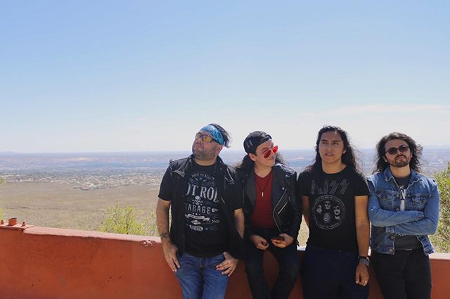 El Paso looks beautiful from up here ⛰ Come hang with us tonight at #TheSpot! #ratchetdolls #outofcontroltour #elpaso