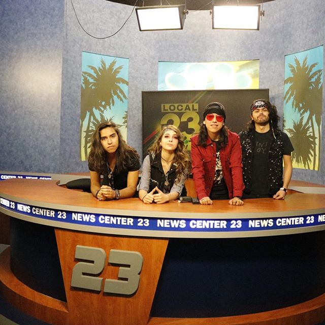 Thank you for the hospitality @kveotv23! Tune in to Channel 23 at 5:00 p.m. today as we share the excitement behind @ratchetdollsofficial returning to @rocklahoma and our tour! 😎  #ratchetdolls #outofcontroltour