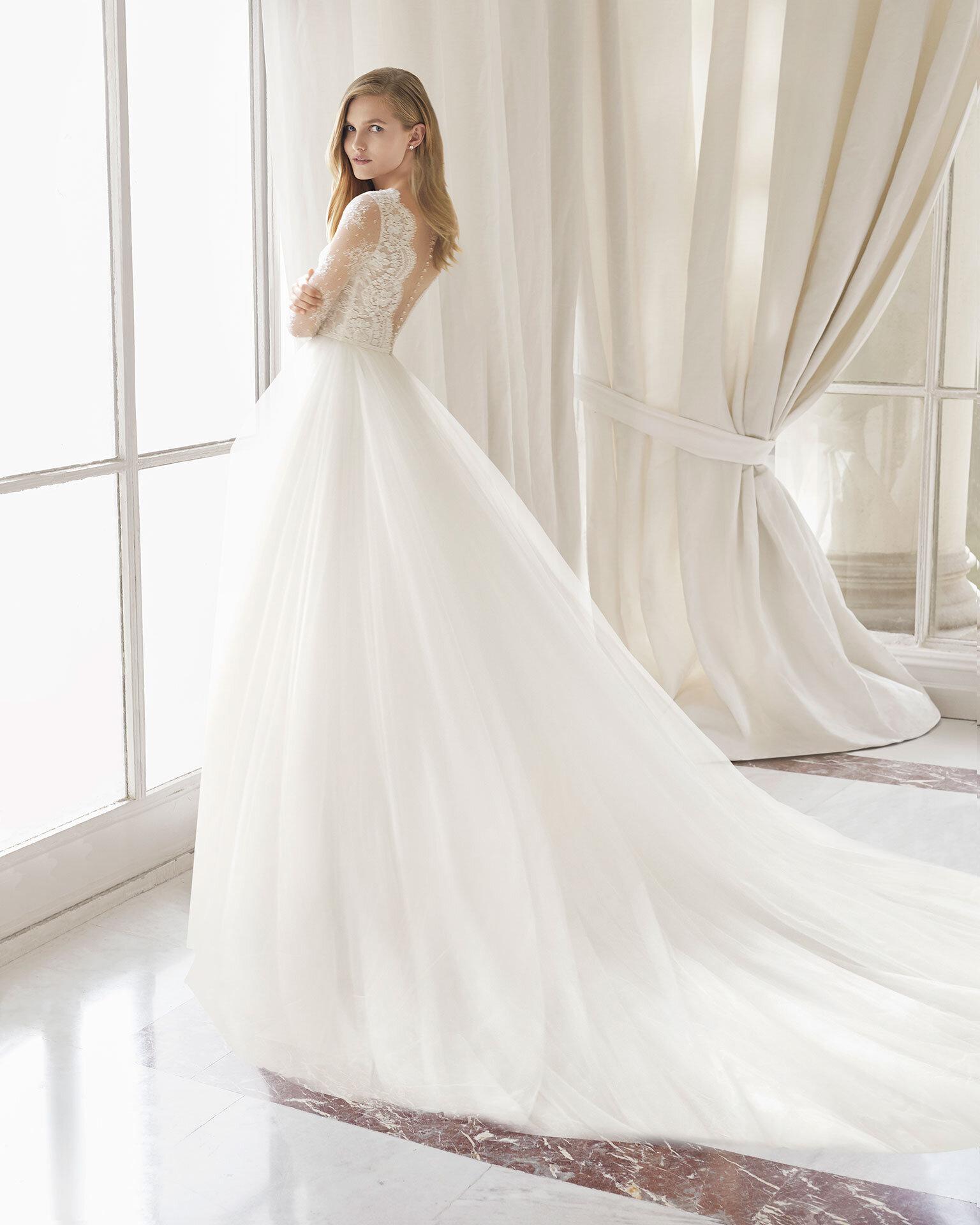 Sweet Romance And Bohemian Pergola Rosa Clara Wedding Dress Nyc Designer Loft