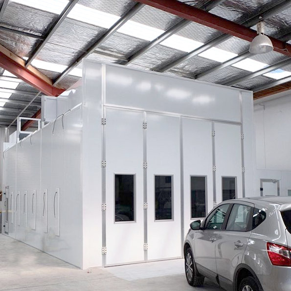 Large Vehicle Spray Paint Booth