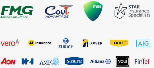 Insurance repairers logos