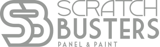 Scratch Busters Logo Greyscale