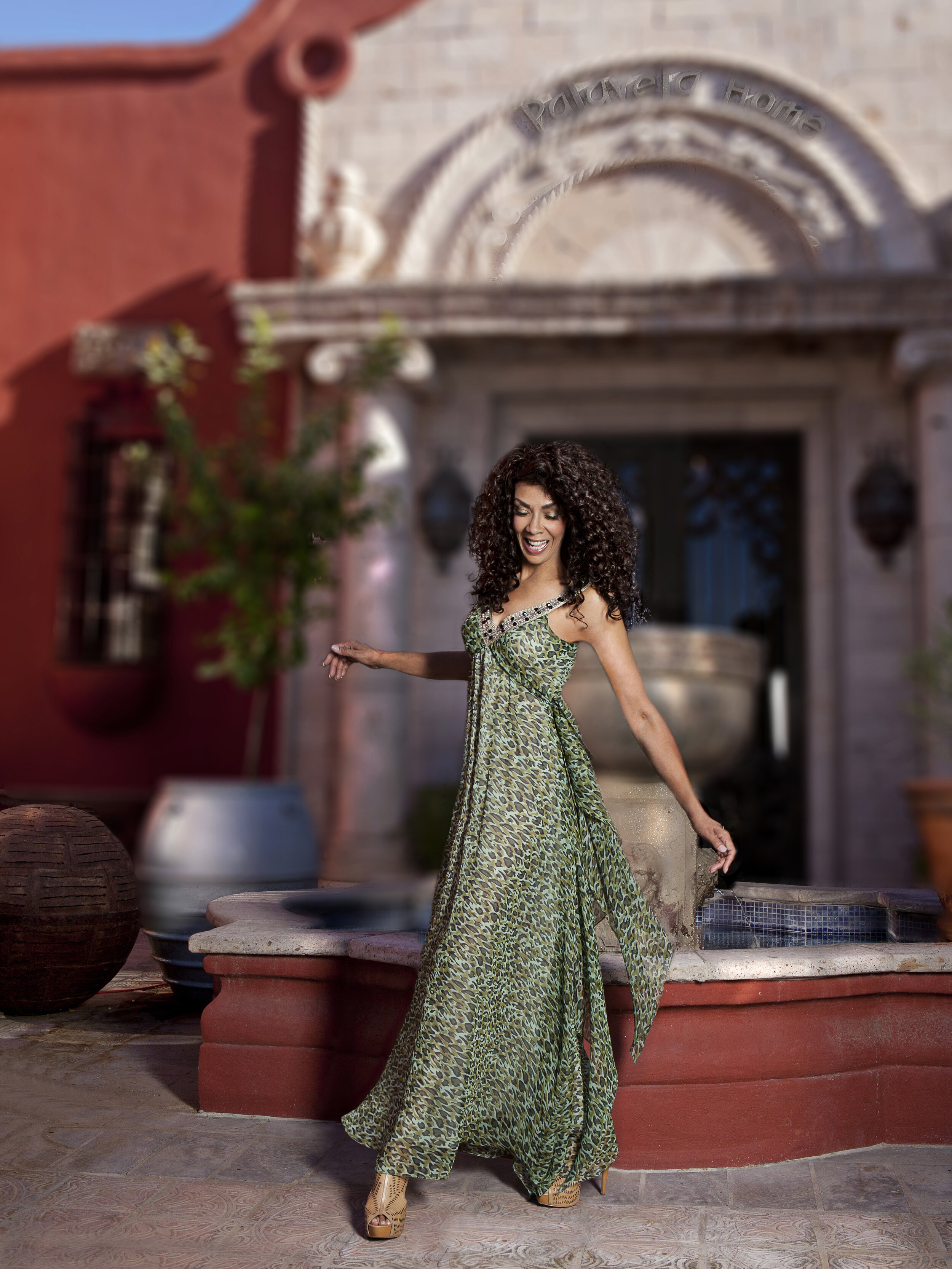 Bespoke flowy maxi dress made of animal print chiffon desinged by Alis Fashion Design for mother of the bride.jpg