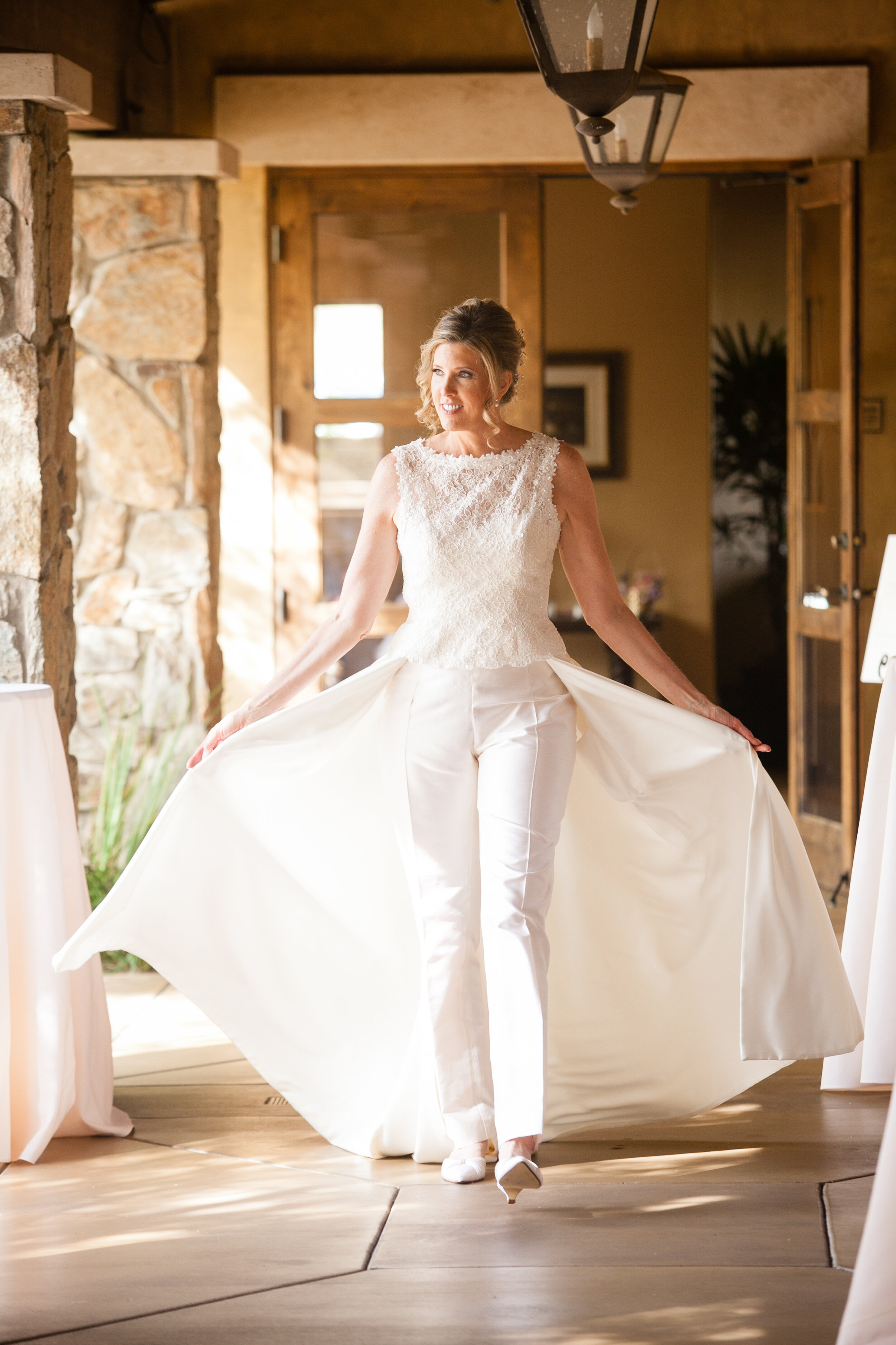 Bride in couture bridal pantsuit custom made by Alis Fashion Design.jpg