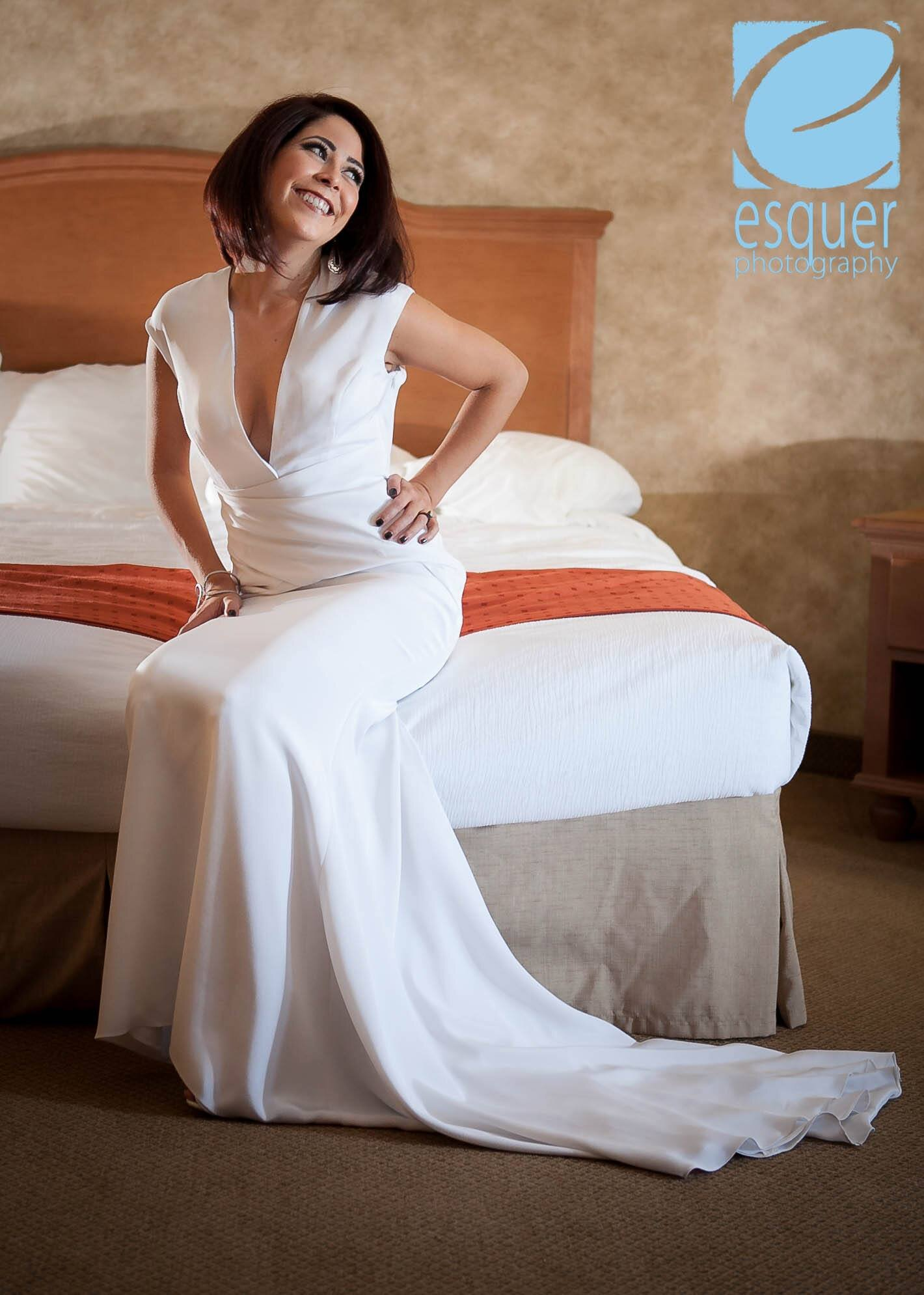 Bespoke bridal gown with plunging cleavage neckline designed by Lana Gerimovich with Alis Fashion Design.jpg