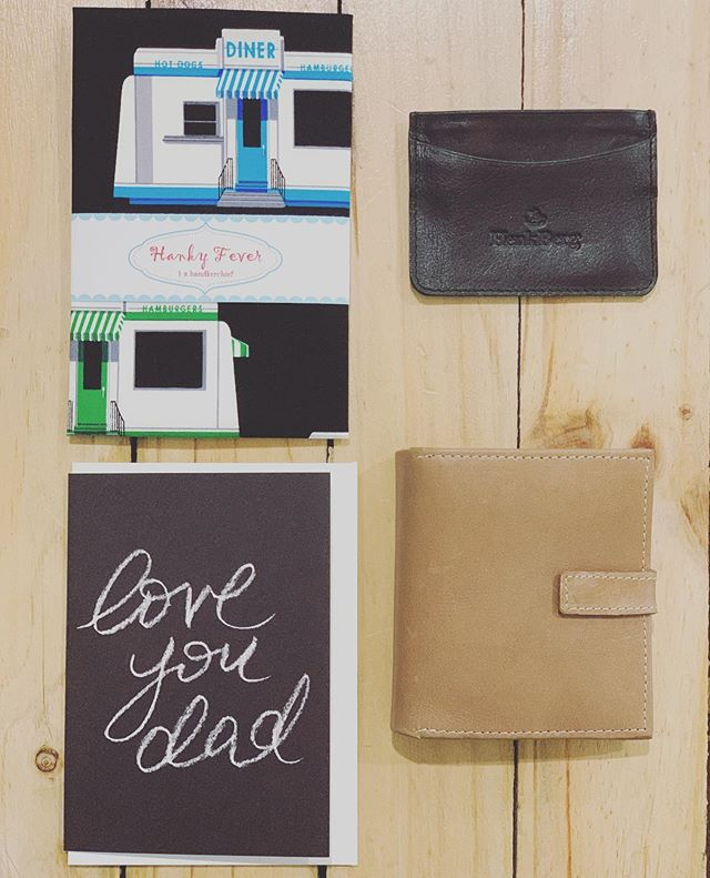 Don't forget Father's Day.. Back in store from 10am today.. x  #threetimesblest #buninyong #visitballarat #ballarat #fathersday #wallets #hankys