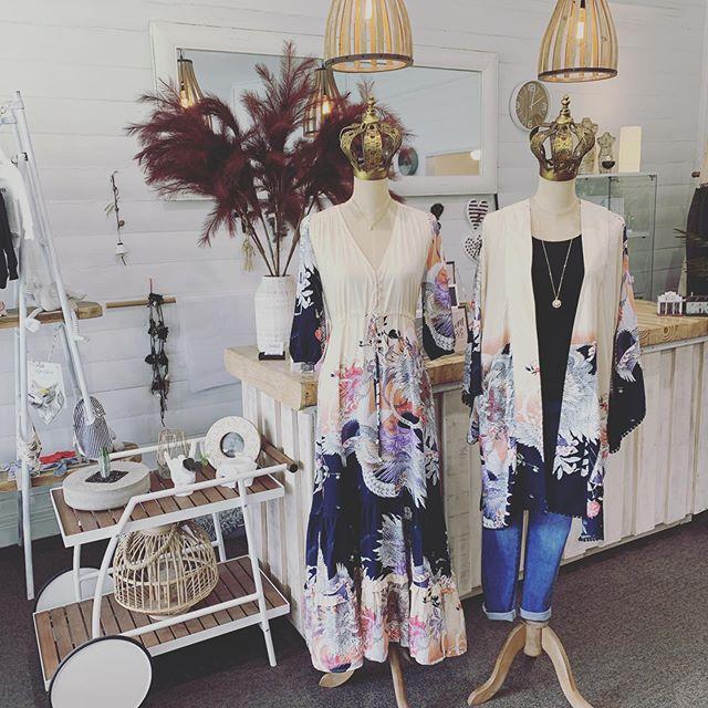 Today's new arrivals from @jaase_au.. x  #threetimesblest #buninyong #ballarat #spring #bohostyle #womensfashion #visitballarat #kimono #maxidress #jaase #ootd