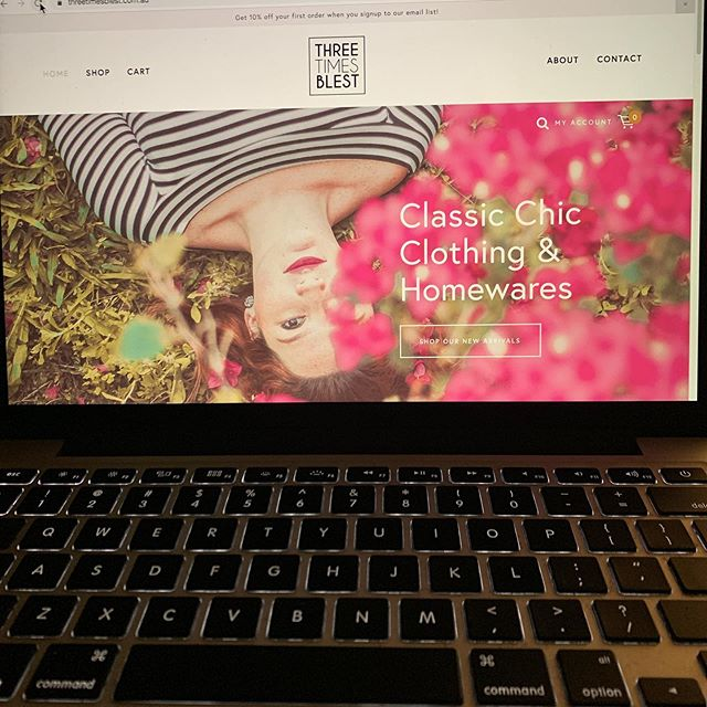 Our website is LIVE!! We will be adding more stock over the next couple of days.. x @retroeventsmarketing @threetimesblest #threetimesblest #buninyong #ballarat #visitballarat #website #onlinestore #shopping #womensfashion #jewellery #shoes