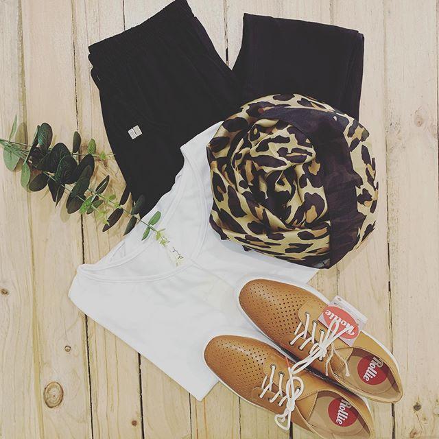 Flatlay Friday.. We are here till 5:30pm, always open online now!! x  #threetimesblest #buninyong #visitballarat #ballarat #flatlay #womensfashion #spring #onlineshopping #rollienation #shoes #leopard
