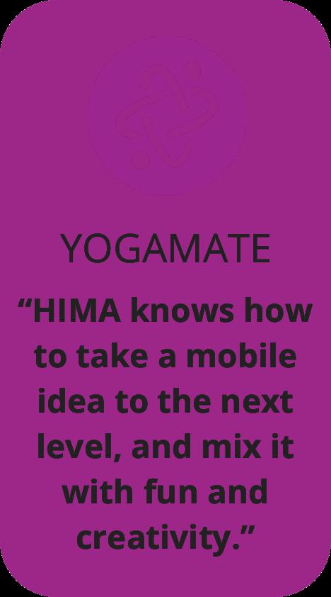YogaMate Testimonial