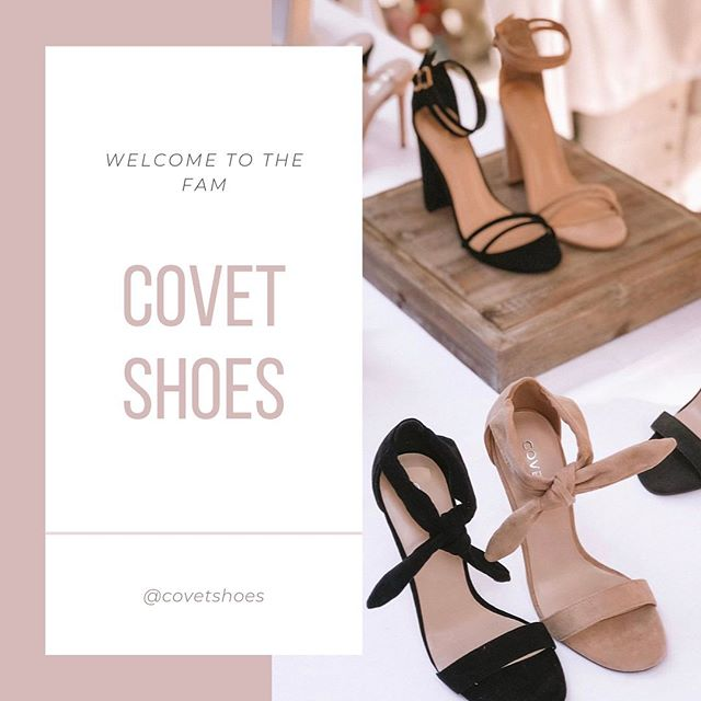 We are excited to welcome @covetshoes to the #MillenniumFam 🙏🏻