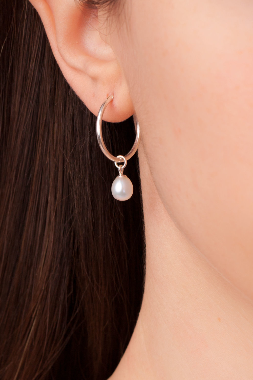 Y6-01 7 Séquoia perles de verre 16x12 mm pierre optique