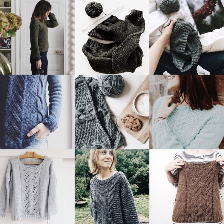 Best nine 2017 • 2/3 (#marcelleetclo) When you knit my patterns ♡ – I'm thankful and proud to see my patterns all around the world.
