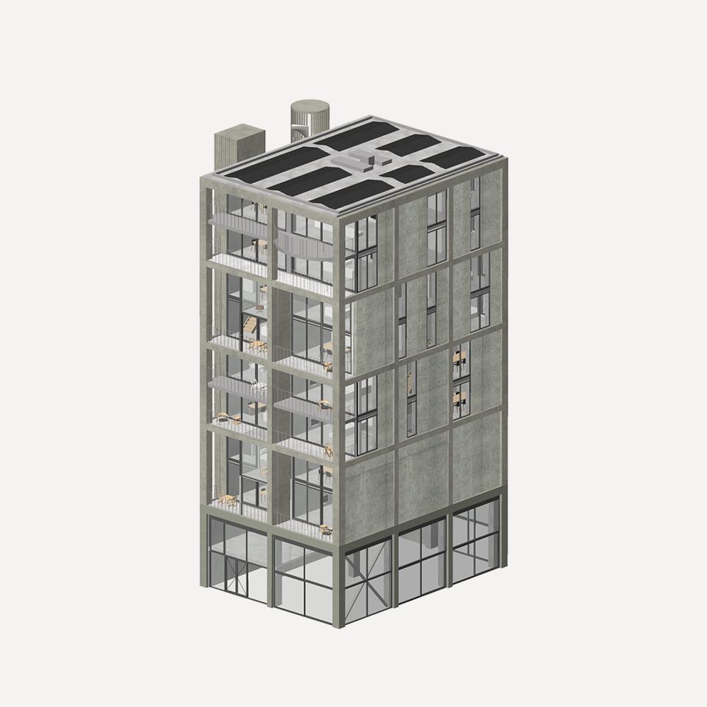 Republica woningen Amsterdam-Noord Superlofts