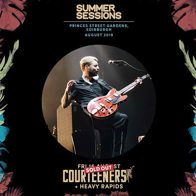 HEAVY RAPIDS x COURTEENERS  AUG 16th | Princes St Gardens