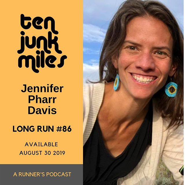 "Add this to the list of things I've never thought I would do 🙂  Take a long run with me and one of the greatest female athletes of all time, author, hiker, ultra runner and just super human being, Jennifer Pharr Davis.  Me and Jen talk about her life in running, her AT hikes including her FKT, other hikes, her family life, her books including her most recent book ""The Pursuit of Endurance: Harnessing the Record Breaking Power of Strength and Resilience,"" the role of God in her endurance life, changes in the hiking and ultra scene over the years, and much much more.  Jen's Amazon Author Page:https://www.amazon.com/Jennifer-Pharr-Davis/e/B002PCG9JC?ref=sr_ntt_srch_lnk_1&qid=1567133569&sr=8-1  Blue Ridge Hiking Company :https://jenniferpharrdavis.com  This episode brought to you by XOSKIN: www.xoskin.us listen carefully.....there's a valuable discount code in the episode!! Website: http://www.tenjunkmiles.com/  Patreon: https://www.patreon.com/tenjunkmiles  Twitter: https://twitter.com/tenjunkmiles  Instagram:https://www.instagram.com/tenjunkmiles/  Facebook: https://www.facebook.com/TenJunkMiles/  You can download now everywhere, and here: https://tenjunkmiles.libsyn.com/long-run-86-jennifer-pharr-davis"