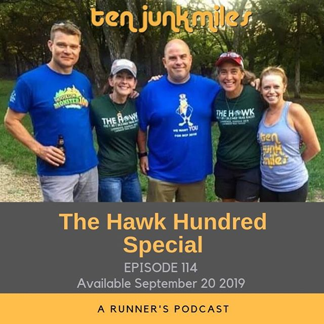 Special kind of episode this week.  Join Scotty, Adam Schroeder Benkers and Holly Lindroth for a recap of Holly's 100 mile finish at the Hawk Hundred, 50-Mile, and Marathon 100!! We check in with RD's Sherrie Klover and Ami Weidler-Hyten,  A check in with Dustin Canestorp about his new XOSKIN clothes, Packages and much much more!  This episode brought to you by Xoskin: www.xoskin.us listen carefully.....there's a valuable discount code in the episode!! Website: http://www.tenjunkmiles.com/  Patreon: https://www.patreon.com/tenjunkmiles  Twitter: https://twitter.com/tenjunkmiles  Instagram:https://www.instagram.com/tenjunkmiles/  Facebook: https://www.facebook.com/TenJunkMiles/